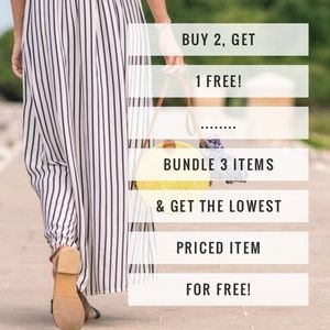 🎉Buy 2 Get 1 Free!🎉All Items Included! No Limit!